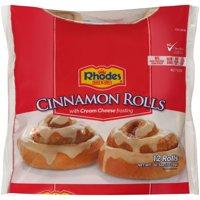 Rhodes Bake N Serv® Cinnamon Rolls with Cream Cheese Frosting 12 ct Bag