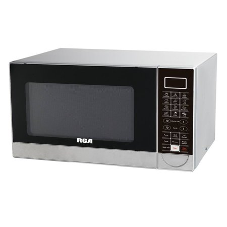 Rca Microwave (RCA 1.1 CU FT STAINLESS STEEL DESIGN MICROWAVE WITH GRILL FEATURE)