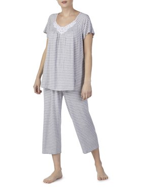 Secret Treasures Women's and Women's Plus Neo Traditional Flutter Sleeve PJ Set