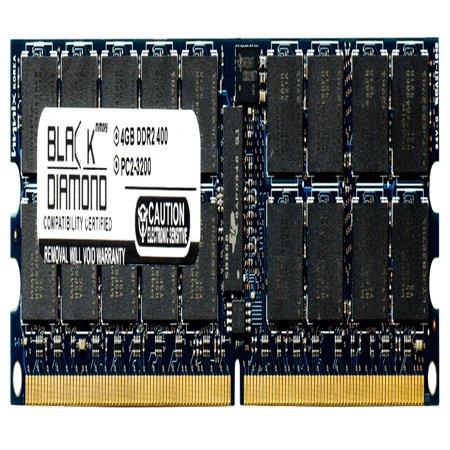 Sun 4 Gb Memory - 4GB RAM Memory for Sun Netra T2000 AC 240pin PC2-3200 DDR2 RDIMM 400MHz Black Diamond Memory Module Upgrade