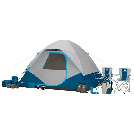 Details about Premium Family 6 person Outdoor Camping Tent Combo hiking  Ozark Trail 28-Piece