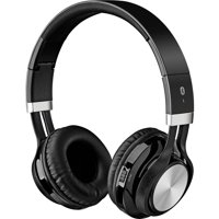 iLive IAHB56B Bluetooth Wireless Headphone with Microphone, Black