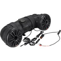 Boss Audio ATV25B - Powersports Plug & Play Bluetooth Sound System with 450 Watt Built-in Amplifier