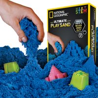 National Geographic Ultimate Play Sand Blue 2 lbs w/6 Molds Deals