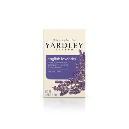 Yardley London Naturally Moisturizing Bath Bar, English Lavender, 4.25 Oz - Halloween Themed Bars In London