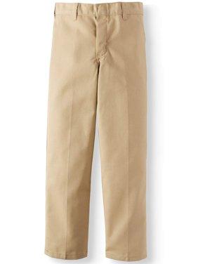 Boy's Traditional School Uniform Style Classic Pants