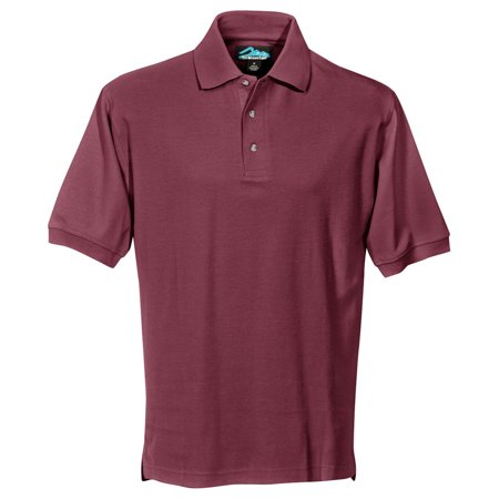 Tri-Mountain Men's Big And Tall Side Vents Cotton Polo (Big And Tall Cotton Polo Shirt)