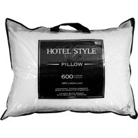 Hotel Style Luxury Cotton Hypoallergenic Down Alternative Pillow, Multiple Sizes Available