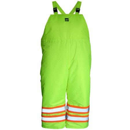 Men's Hi-Vis Insulated 150D Bib Pants