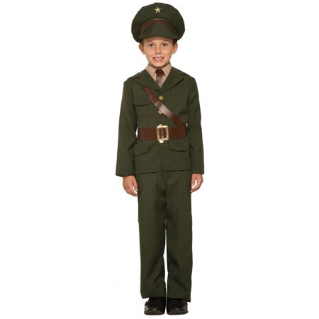 Boys Army Officer Costume](Army Pilot Costume)