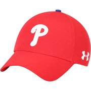 1fb4bc2387e Philadelphia Phillies Under Armour MLB Driver Cap 2.0 Adjustable Hat - Red  - OSFA