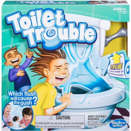 Toilet Trouble Game, for Kids and Families, Ages 4 and up - Games For Kids For Halloween