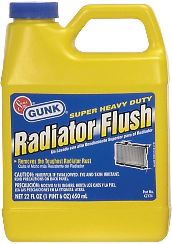 Gunk Radiator Flush