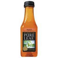 (2 Pack) Pure Leaf Real Brewed Tea, Peach, 6 Count, 18.5 fl oz Bottles