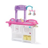 Step2 Love and Care Deluxe Doll Pretend Play Toddler Girls Nursery Toy Playset