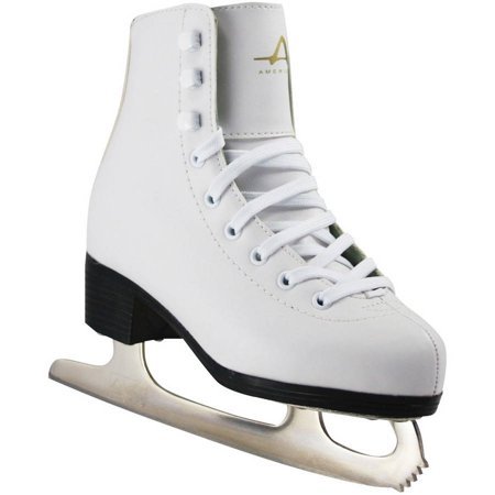Leather Lined Girls Figure Skates - American Athletic Girls' Tricot-Lined Ice Skates