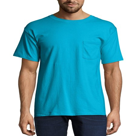 - Men's Premium Beefy-T Short Sleeve T-Shirt With Pocket, Up to Size 3XL