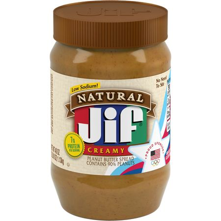 Jif Natural Creamy Peanut Butter Spread, 40-Ounce (Double Chocolate Peanut Butter)