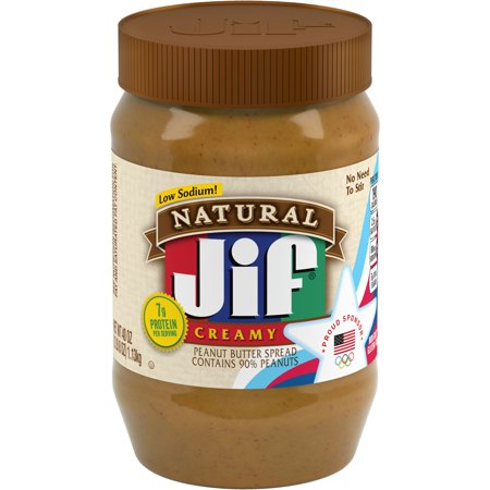 Peanut Butter Smoothie (Jif Natural Creamy Peanut Butter Spread, 40-Ounce )