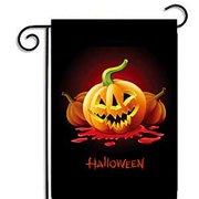 f5dc4ca4a 30*45CM Cartoon Pumpkin Garden Flag Weatherproof Halloween Party Banners  Home Decoration Specification:2