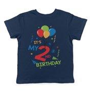 Lil Shirts Its My 2nd Birthday Toddler T Shirt