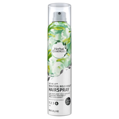 Herbal Essences Set Me Up Beautiful Bold Hairspray with Lily of the Valley Essences, 8 oz (Herbal Essences Spray Gel)