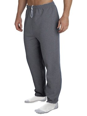 Gildan Men's Elastic Bottom Pocketed Sweatpant