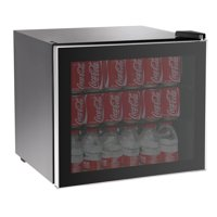 RCA, 70-Can or 14-Bottle Adjustable Beverage Center with Silver Trim