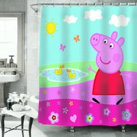 Peppa Pig Peppas Pond Shower Curtain 1.0 CT