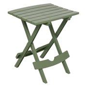 Adams Manufacturing Quik-Fold Side Table, Sage