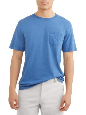 George Men's Washed Solid Tee, Up to size 5XL