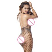 abc7569c81 CARLTON Women Fishnet Sheer Body Stocking Bodysuit Lingerie