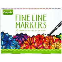 Crayola 40 Count Adult Coloring Classic Fine Line Marker Set