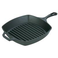 Lodge L8SGP3 Square Cast Iron Grill Pan