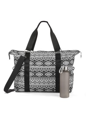 No Boundaries Gym Bag With Water Bottle