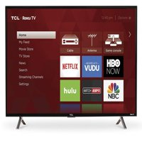 "Refurbished TCL 40"" Class FHD (1080p) Roku Smart LED TV (40S305)"