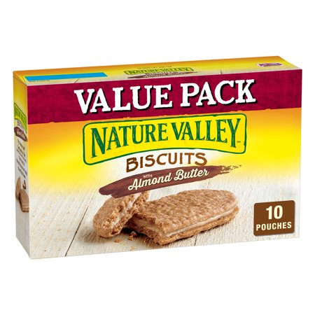 Almond Pastries (Nature Valley Almond Butter Nut Filling Breakfast Biscuits 10)