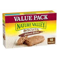 Nature Valley Almond Butter Nut Filling Breakfast Biscuits 10 Pouches