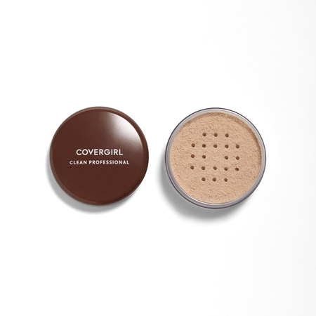 Loose Powder Makeup (COVERGIRL Clean Professional Loose Powder, 110 Translucent Light )