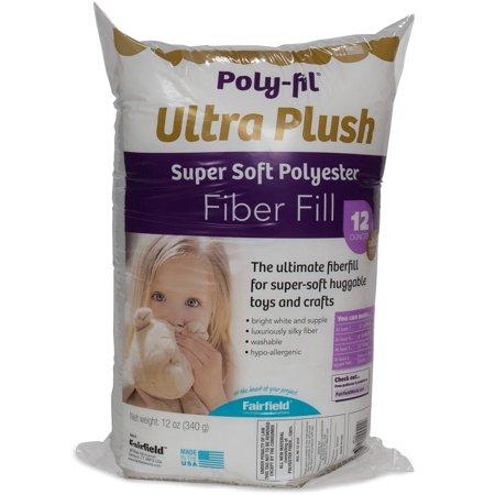 Poly-Fil Supreme Ultra Plush Fiberfill - 12 Oz. - Halloween Fil