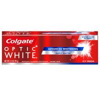 Colgate Optic White Whitening Toothpaste, Icy Fresh - 3.5 oz