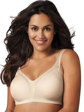 Womens 18 Hour Back Smoother Wirefree Bra, Style 4E77