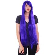 New Style 100CM Halloween Long Straight Women's Cosplay Party Wig Full Hair Wigs