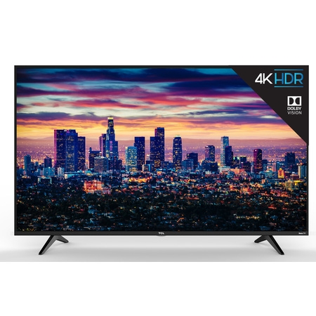 "TCL 43"" Class 4K Ultra HD (2160p) Dolby Vision HDR Roku Smart LED TV (43S517)"