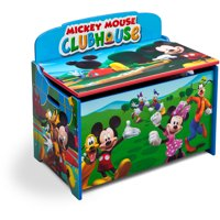 Disney Mickey Mouse Deluxe Wood Toy Box by Delta Children