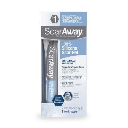 Scaraway Silicone Scar Gel, 0.35oz, 3 Month Supply - Scar Putty