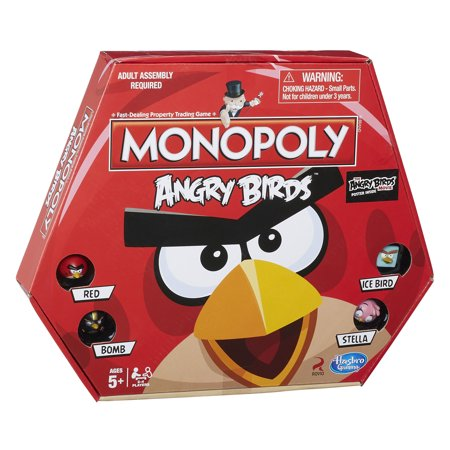 Monopoly Game: Angry Birds Edition - Game Angry Birds Halloween