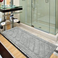 Ottomanson Ruby Collection Solid Cotton Bath Rugs and Mats