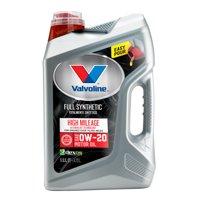 Valvoline Full Synthetic with MaxLife Technology 0W-20 Motor Oil, 5 Quarts