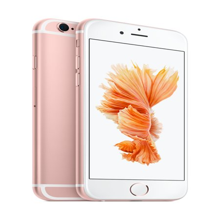Straight Talk Prepaid Apple iPhone 6s 32GB, Rose Gold